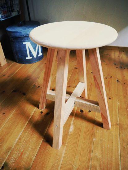 丸椅子DIY