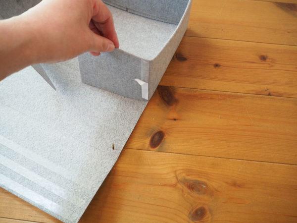 100均DIY・収納ボックスの作り方