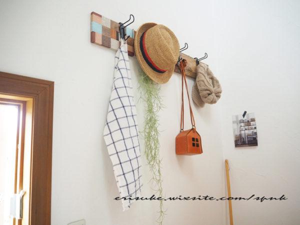 簡単DIYで作る壁掛けフック