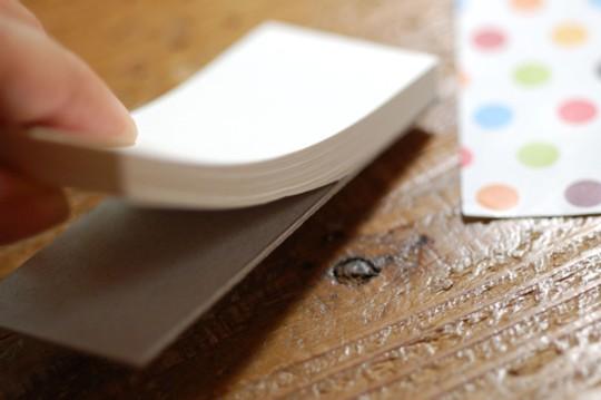 メモ帳の作り方