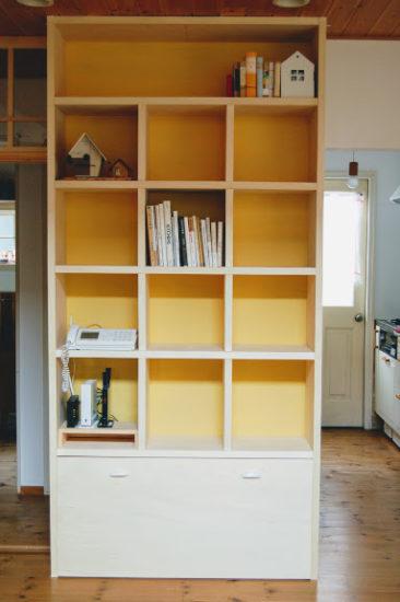 本棚DIY