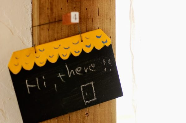 端材DIY・黒板のおうち