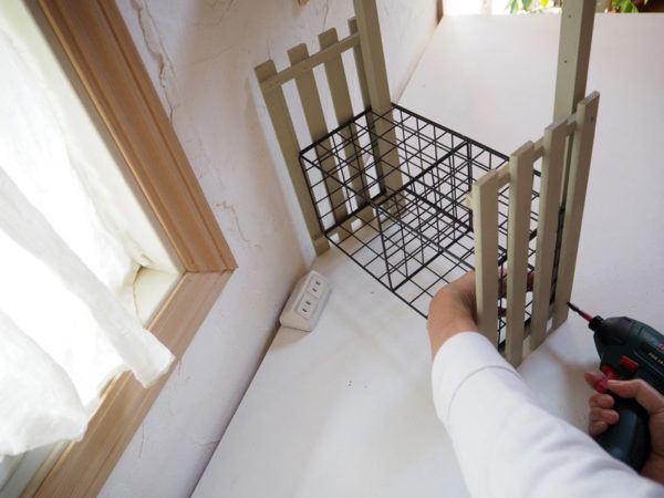 すのこDIY~ガーデンラックの作り方