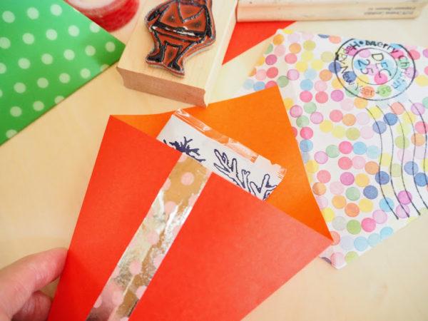 ラッピングにも使える折り紙のクリスマスツリー