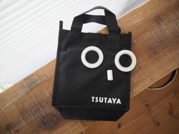 TSYTAYAの袋、マステで作ったビックリ顔