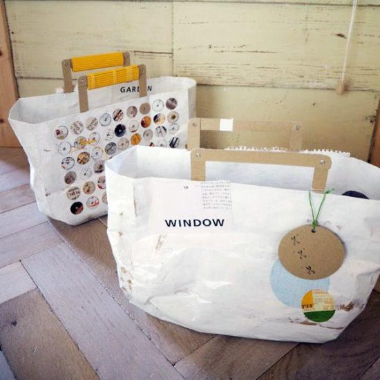 古雑誌とクラフト紙で作るペーパーバッグ
