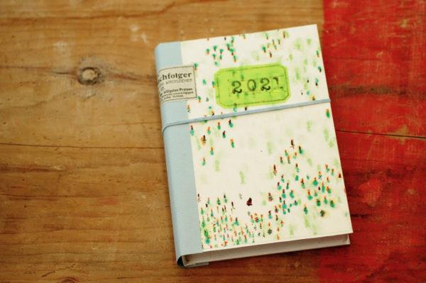 手作りの年賀状収納ケース・ブック型