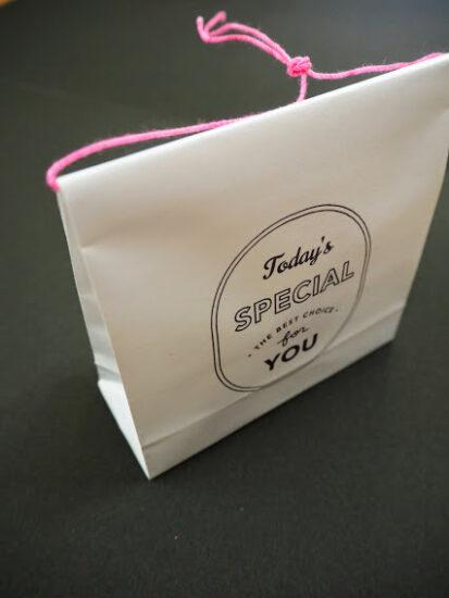 コピー用紙で作るラッピング袋