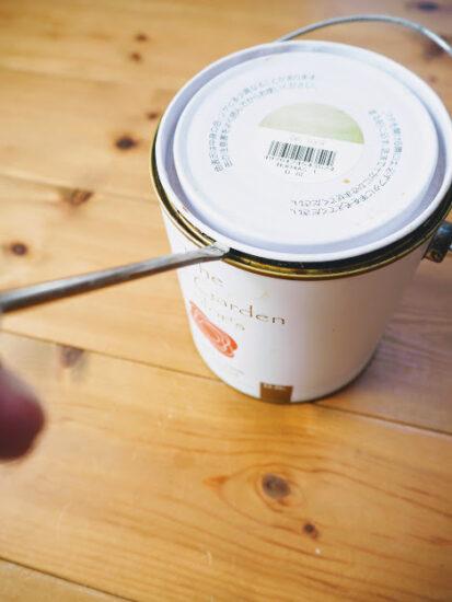 ペンキ缶のフタを簡単に開ける方法