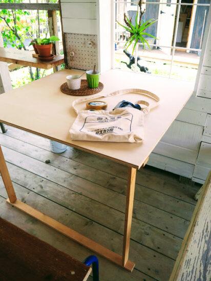 簡単テーブルDIY