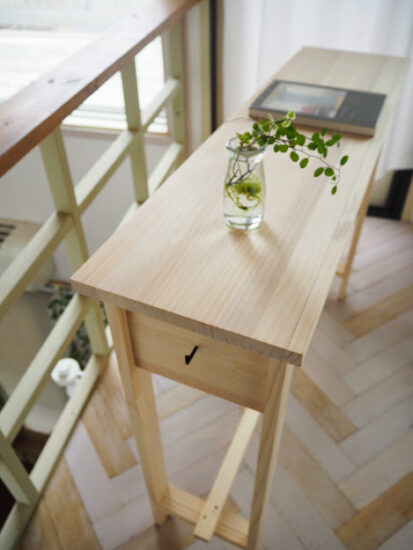 テーブルDIY