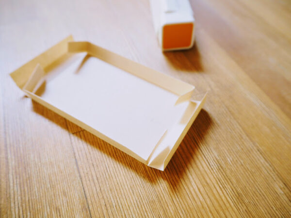 折り紙で作る箱