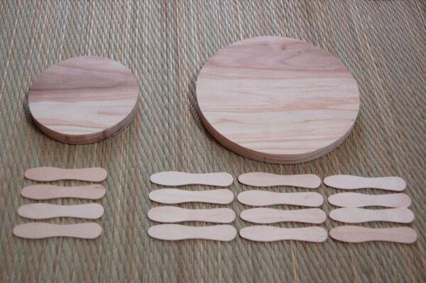 手作りコースター
