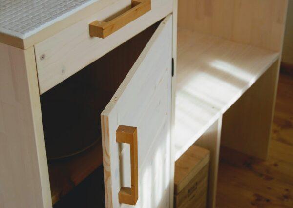 食器棚DIY